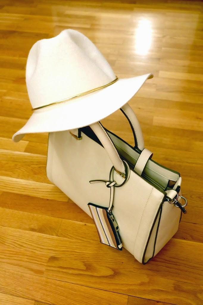 Klobuk in torbica - kombinacija 2
