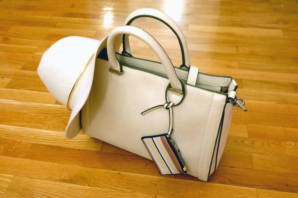 Klobuk in torbica - kombinacija 1