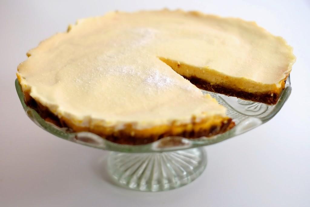 Limetin cheesecake