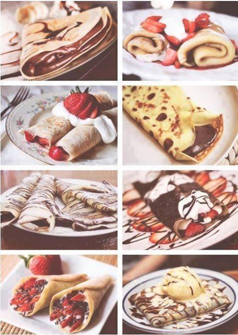 Palačinke, Pancakes, Crepes