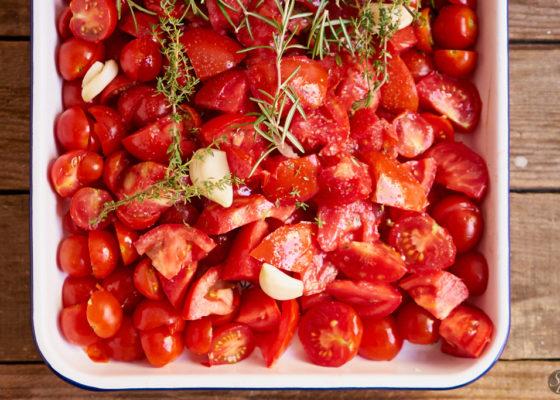 pečena paradižnikova omaka 1