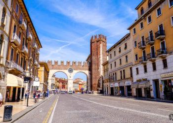 Verona Old City Entrance